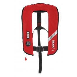 Kamizelka pneumatyczna Besto Inflatable PRO czerwona - 190N - kolor czerwony