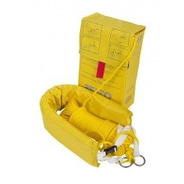Pas ratowniczy SET - pętla bezpieczeństwa + pokrowiec + 40 m liny