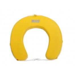 """Koło ratunkowe """"podkowa"""" - kolor żółty"""